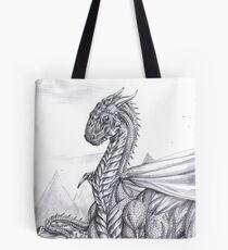 Saphira (BW) Tote Bag