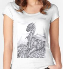 Saphira (BW) Women's Fitted Scoop T-Shirt