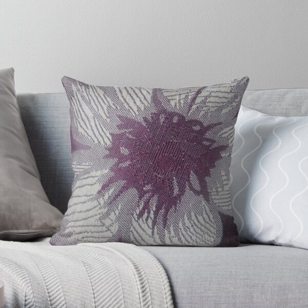 Purple Persona Collection  Throw Pillow