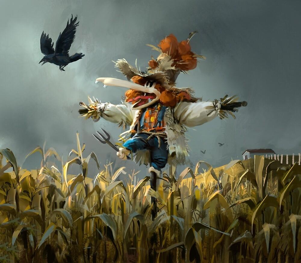 Tzika Scarecrow by tzika