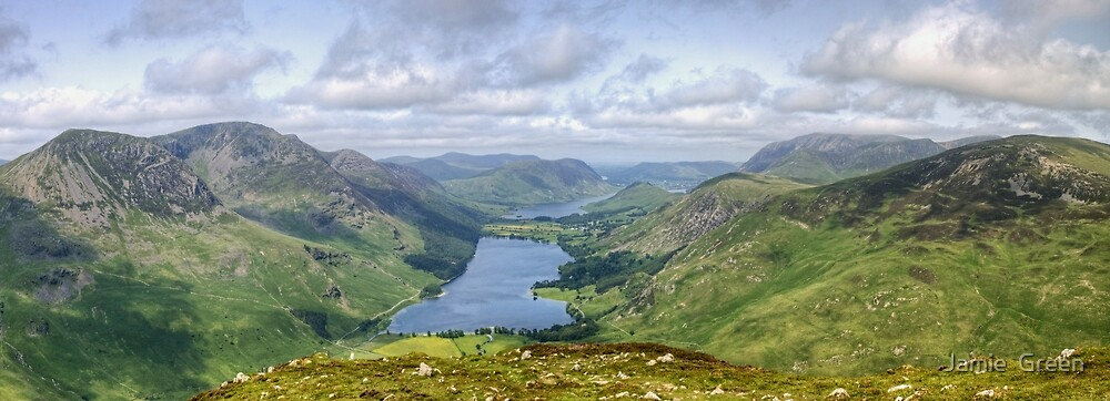 Above Buttermere by Jamie  Green