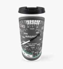 Aviation Air Speed Indicator Travel Mug