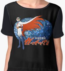 Gatchaman Ken The Eagle Chiffon Top