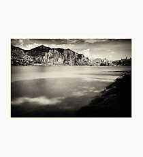 Lake Garda - View off Malcesine Photographic Print