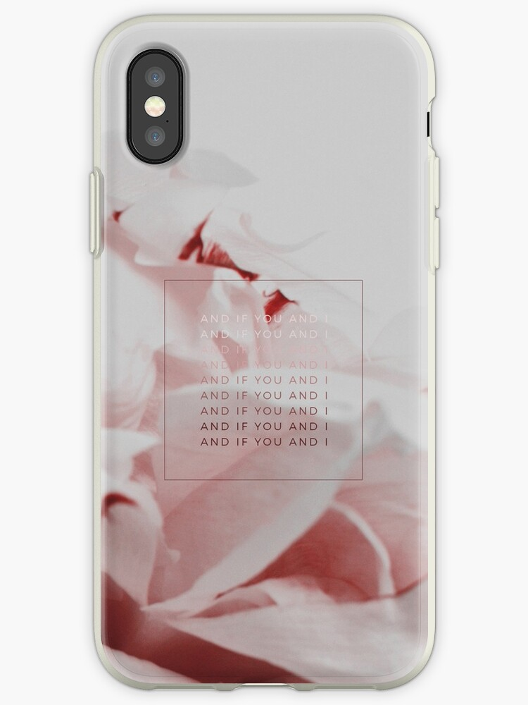 You And I Floral Pink Ombre Design by kaespo