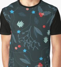 xmas pattern Graphic T-Shirt