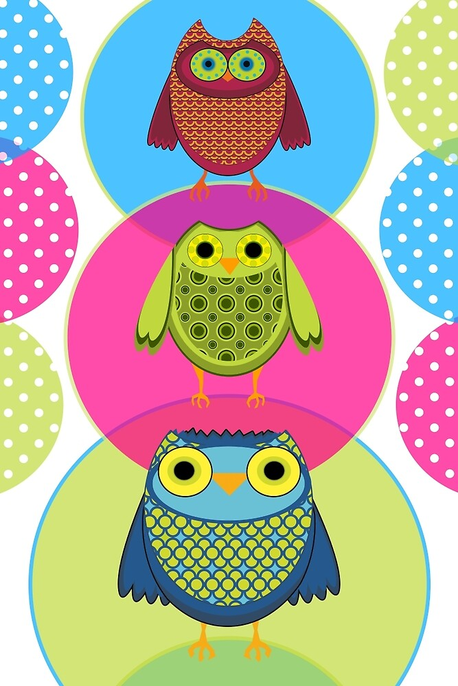 Circus Owls by ssStephG