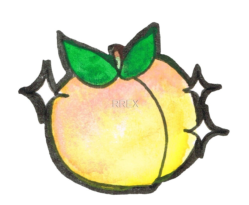 Cutie Fruits- Peach by RREX