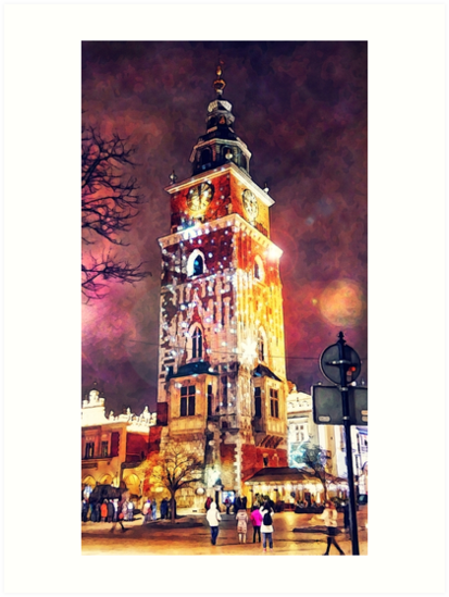 Cracow Town Hall Tower by JBJart