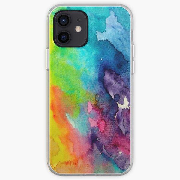 Color Flow iPhone Soft Case