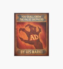 BioShock Infinite – You Shall Know the False Shepherd by His Mark! Poster Art Board