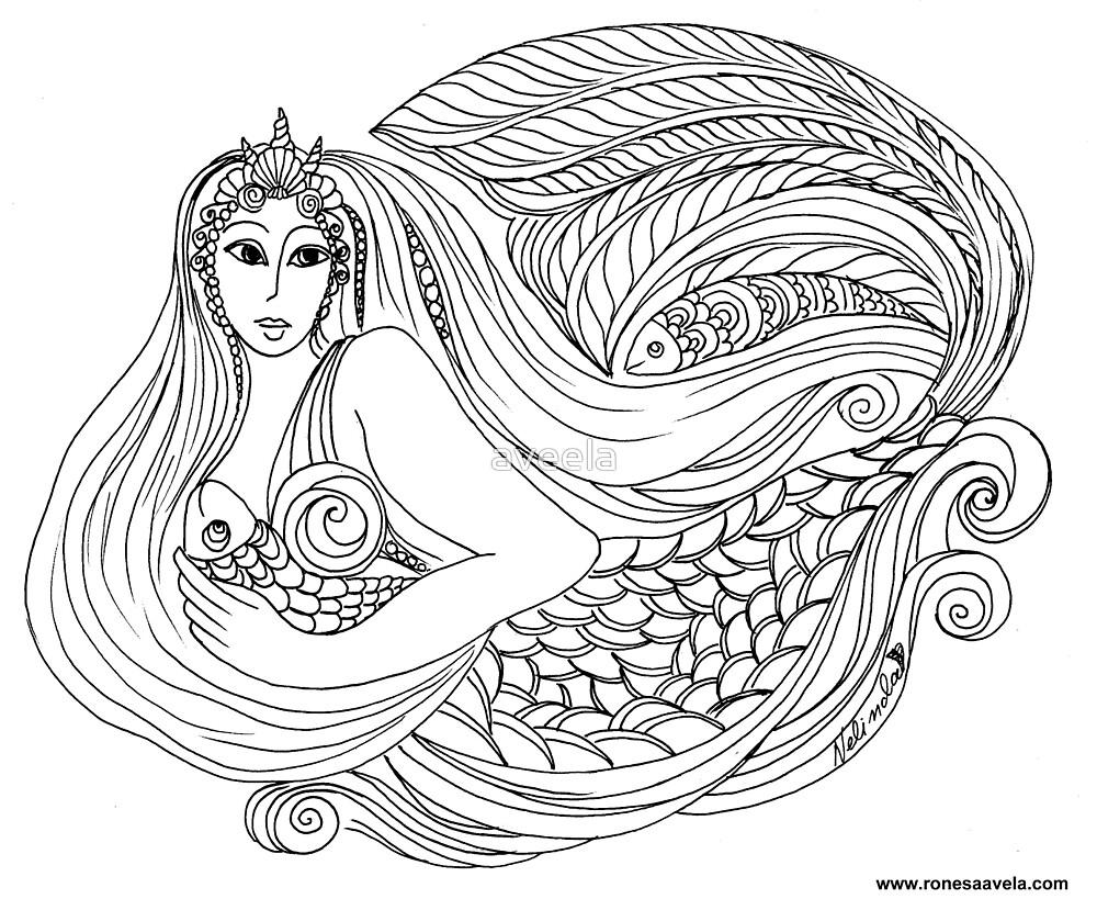 Mermaid  by aveela