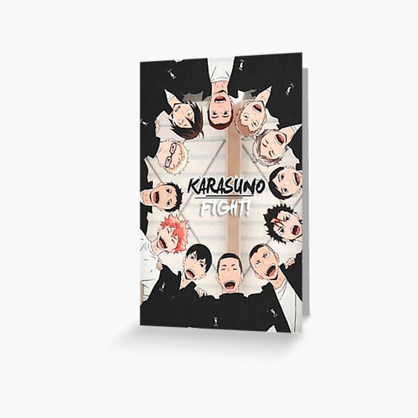 Karasuno - Haikyuu Greeting Card