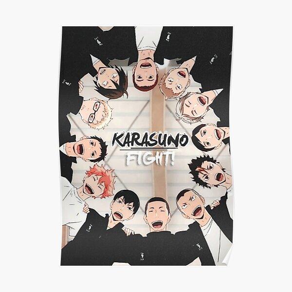 Karasuno - Haikyuu Poster