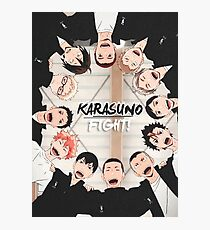 Karasuno - Haikyuu Photographic Print