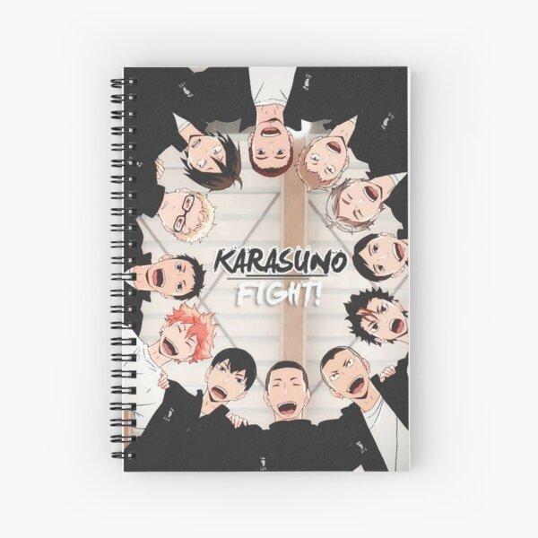 Karasuno - Haikyuu Spiral Notebook