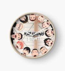 Karasuno - Haikyuu Clock