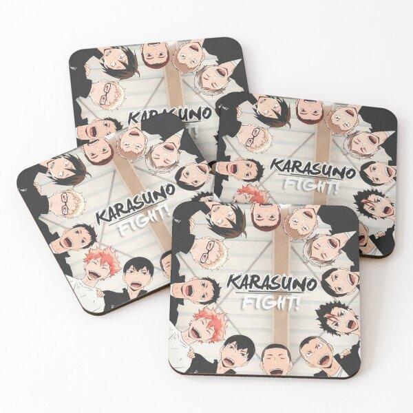 Karasuno - Haikyuu Coasters (Set of 4)