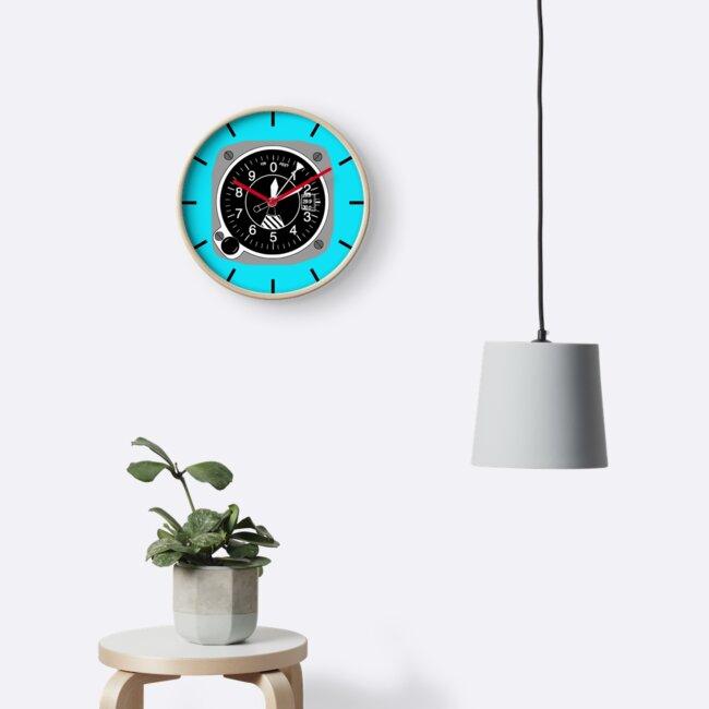 Aviation Altimeter Clock by skyhawktees