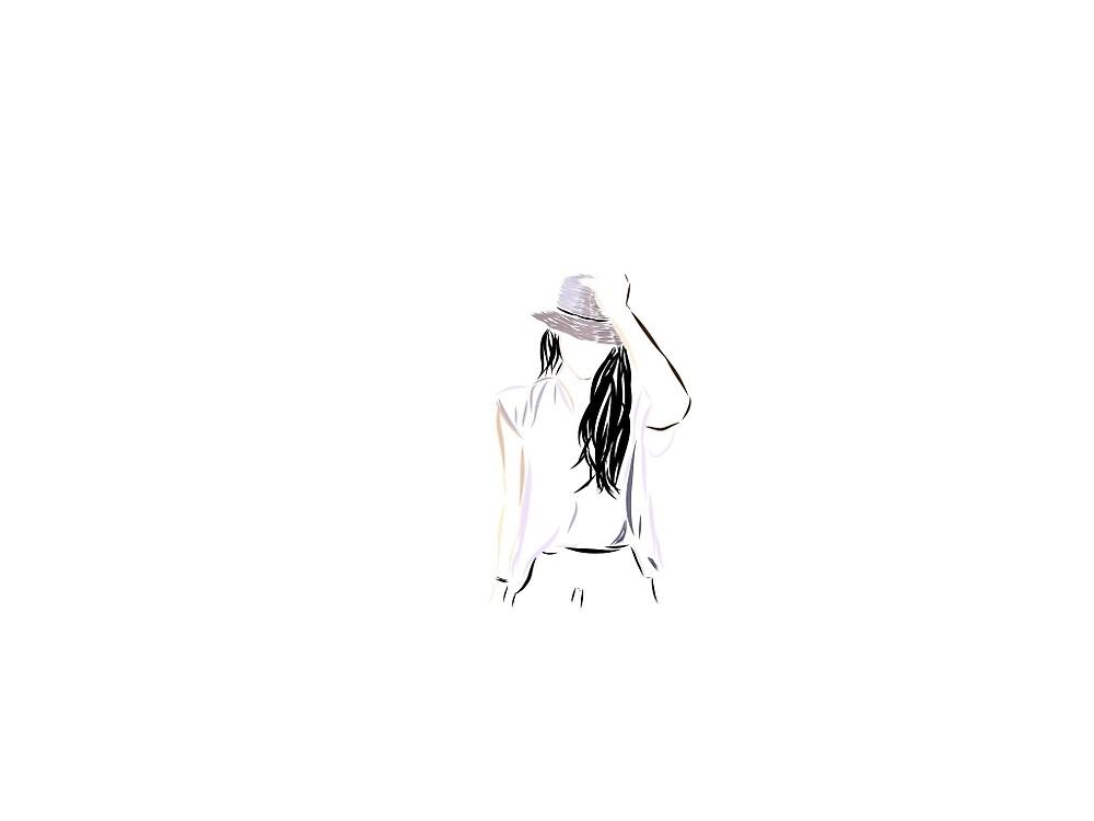 Christina perri - purple hat by krisnell