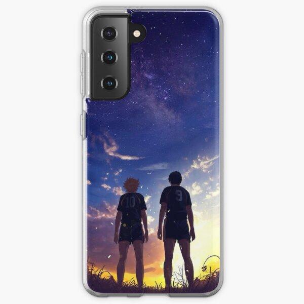 Hinata and Kageyama Coque souple Samsung Galaxy