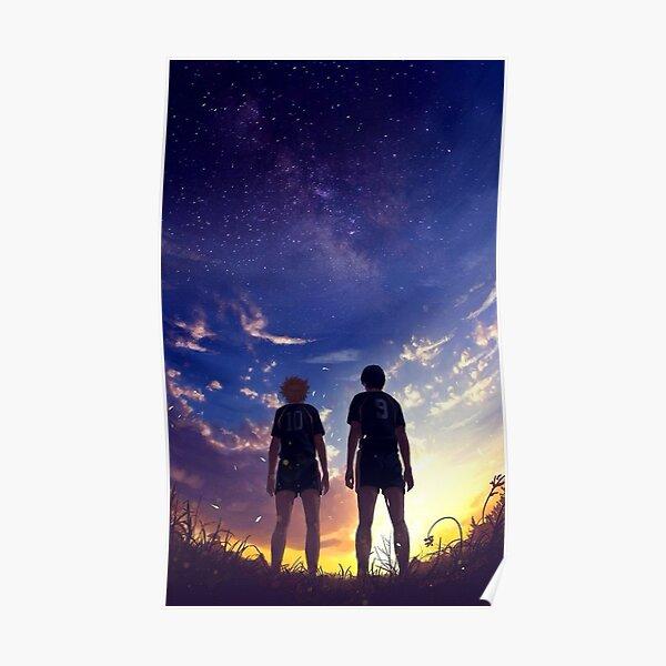 Hinata and Kageyama Poster