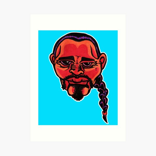 Gustavo - Die Cut Version Art Print