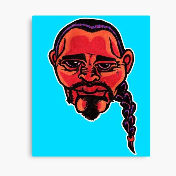 Gustavo - Die Cut Version Canvas Print