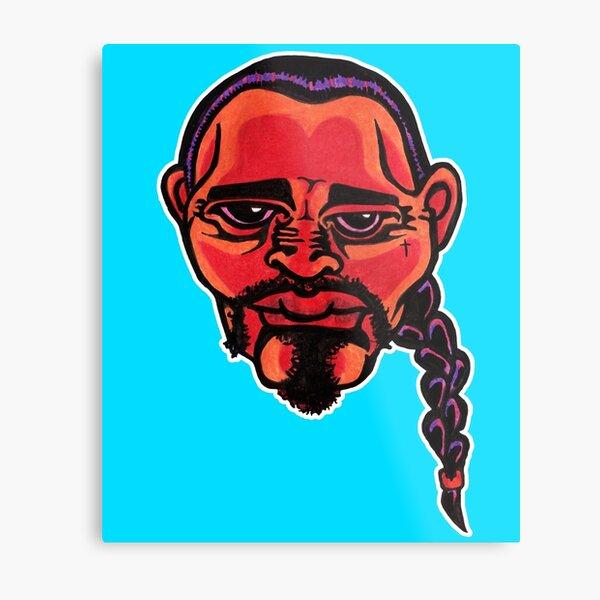 Gustavo - Die Cut Version Metal Print