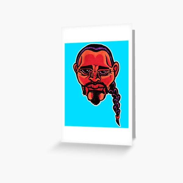 Gustavo - Die Cut Version Greeting Card