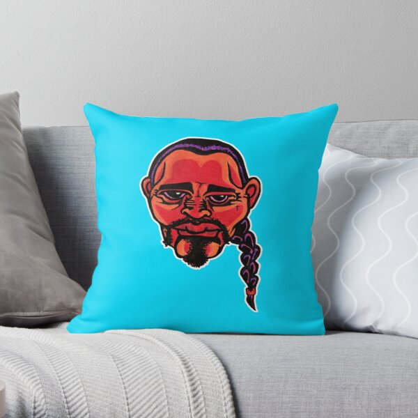 Gustavo - Die Cut Version Throw Pillow