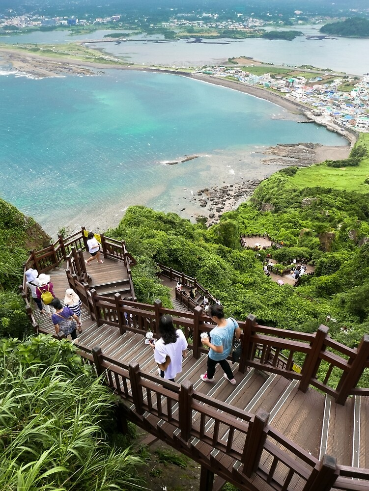 Seongsan Ilchulbong Hike.  by Michael Stocks