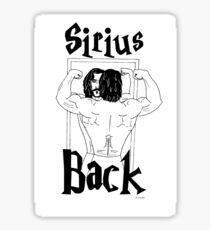 Serious Workout Sticker