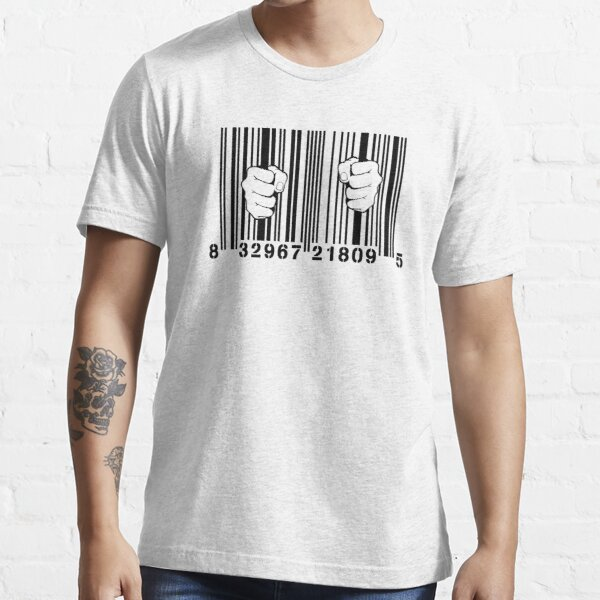 Captured By Consumerism UPC Barcode Prison Essential T-Shirt