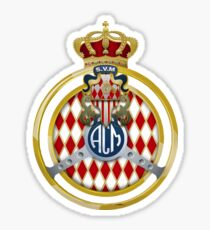ACM Automobile Club de Monaco Seal Sticker