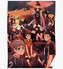 Team Karasuno - Haikyuu  Poster