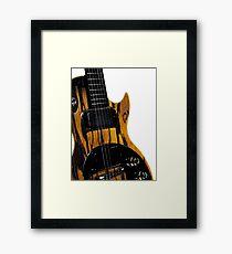 Gibson Guitar Framed Print