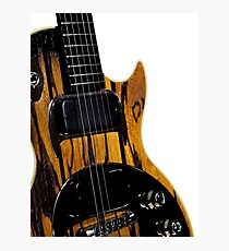 Gibson Guitar Photographic Print