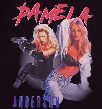 Pamela Anderson 90s Retro by callumharvey92