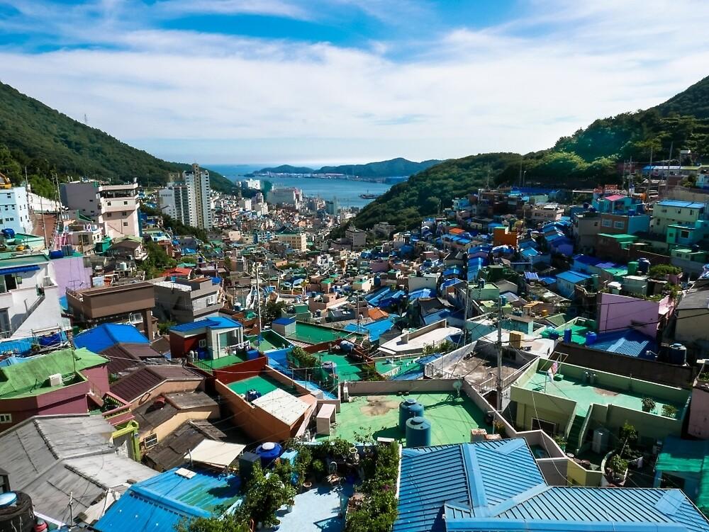 Busan Gamcheon Culture Village (부산 감천문화마을) by Michael Stocks