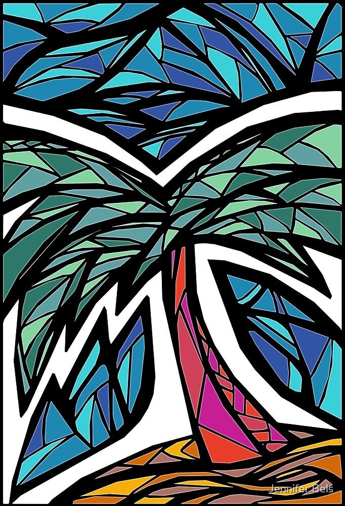 Plam Tree Graphic by Jennifer Bels