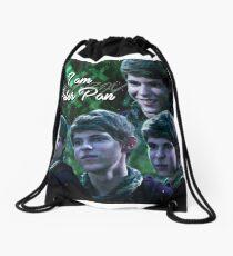 """""""I am Peter Pan.""""  Drawstring Bag"""