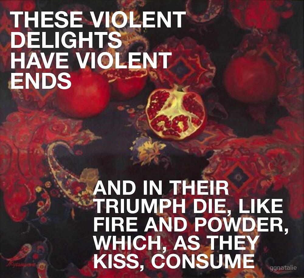 These Violent Delights - Romeo and Juliet by ggnatalie