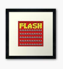 Flash Gordon Framed Print