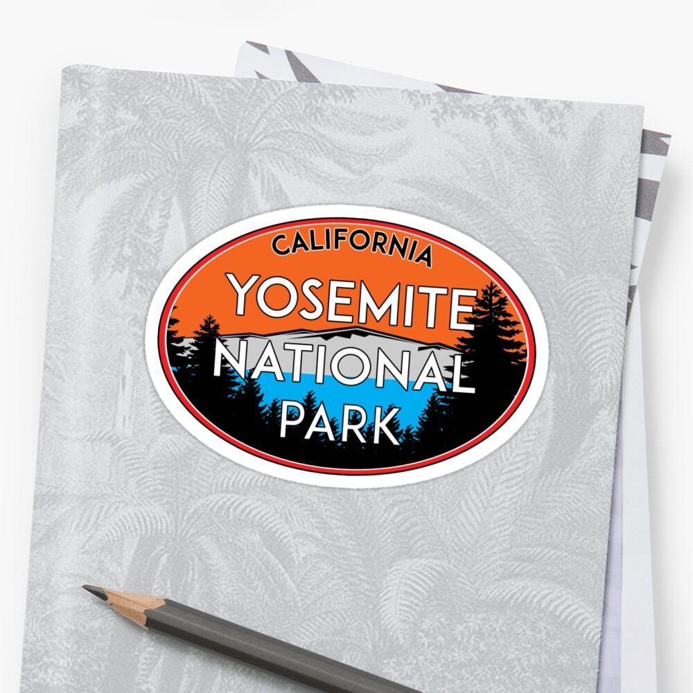 YOSEMITE NATIONAL PARK CALIFORNIA MOUNTAIN HIKING CAMPING CLIMBING 2 by MyHandmadeSigns