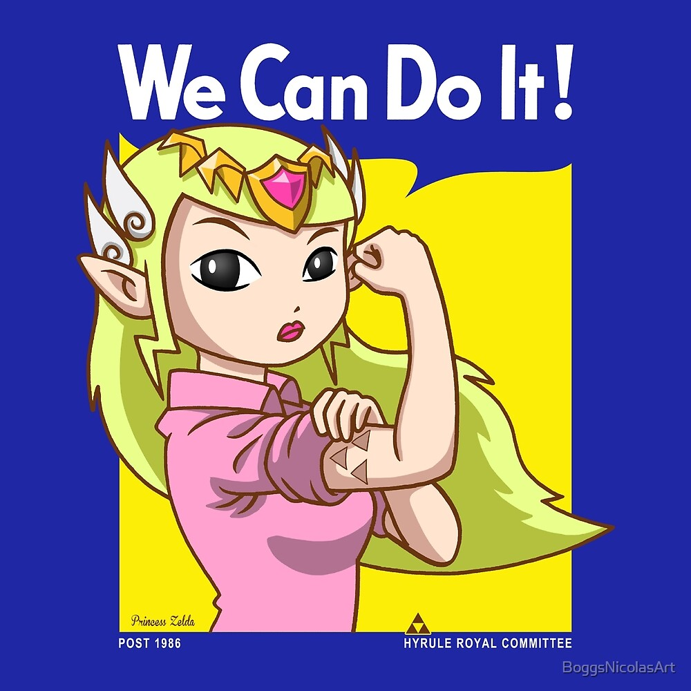 She can do it! by BoggsNicolasArt