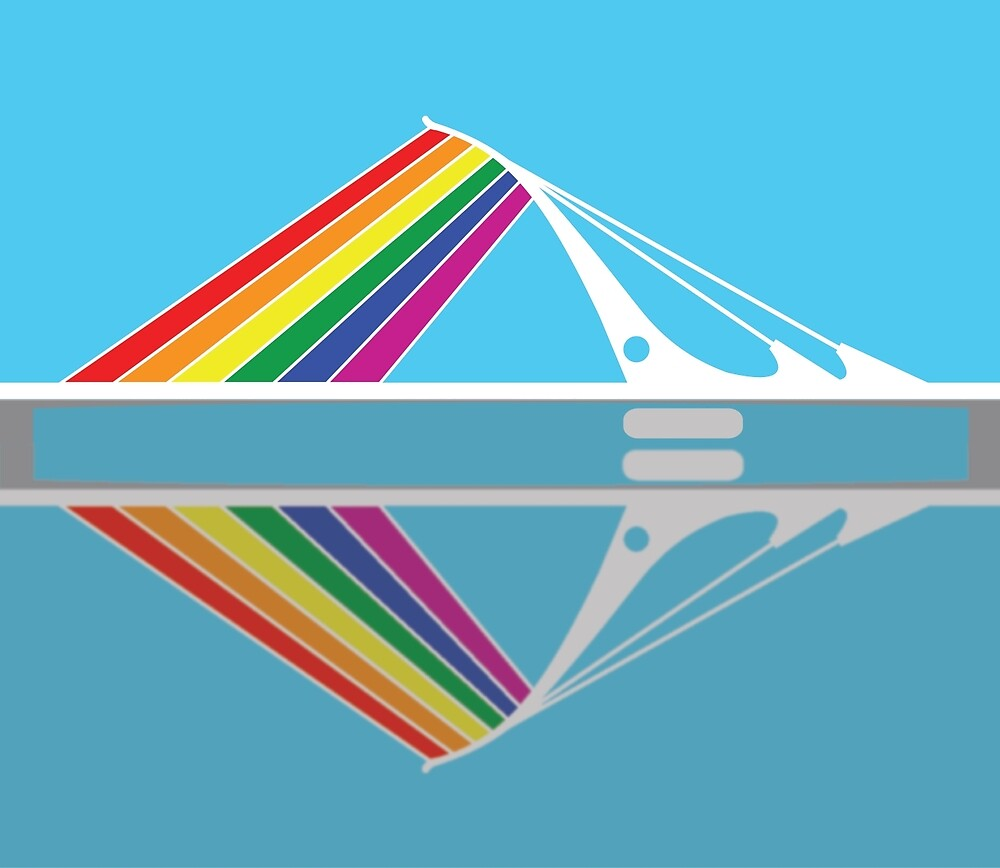 Samuel Beckett Bridge LGBTQ by T-shock