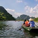Trang An, Vietnam by Lisa Williams