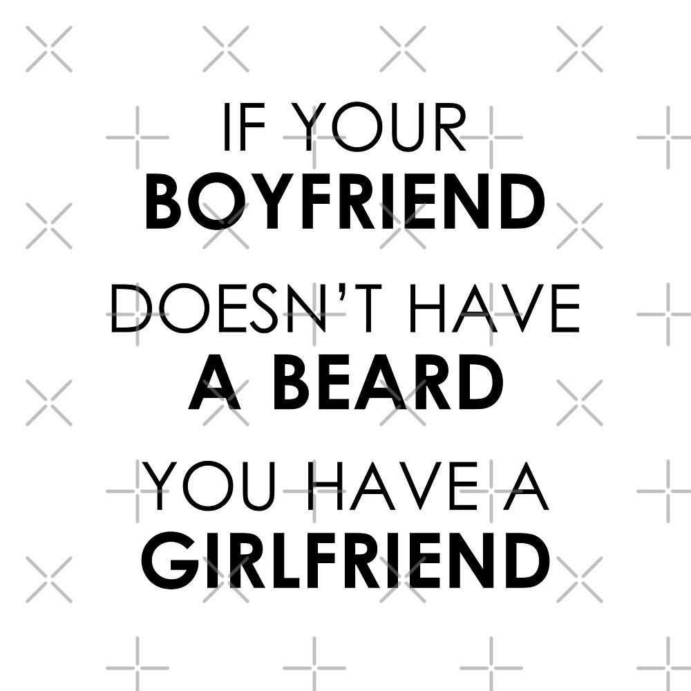 Boyfriend's Beard by DJBALOGH