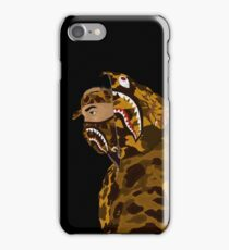 Draped In Bape (Black) iPhone Case/Skin